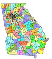 Interactive Map Of Georgia.Interactive Maps Employees Retirement System Of Georgia