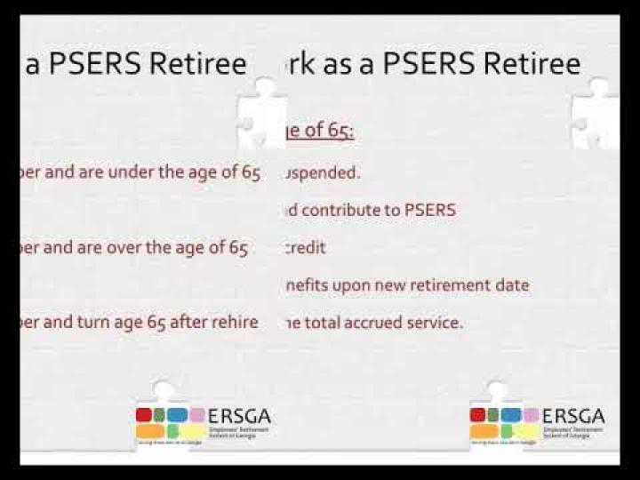 Video – PSERS Overview