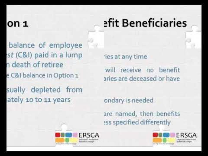 Video – ERS Service Retirement Application Instructions
